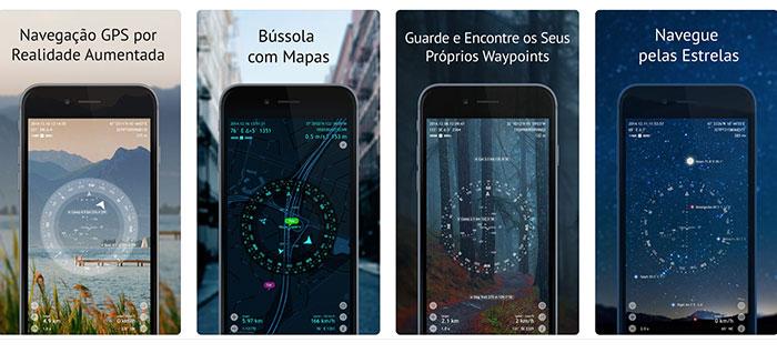 aplicativo para trilhas