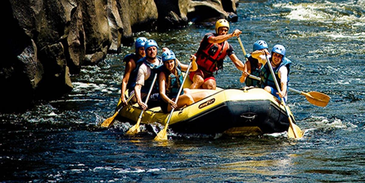 Rafting em Campinas